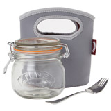 clear Kilner Make And Take Jar Set