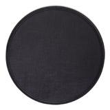 blackRound Stitch Placemat
