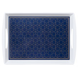 navy Sapphire Large Tray