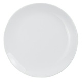 white Simply White Side Plate