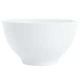 white Simply White Cereal Bowl