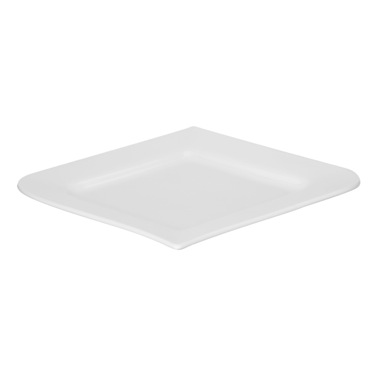 white Tempo Side Plate - 7in