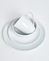 white Simply White Dinner Set - 16 Piece