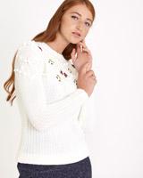 off-whiteSavida Embroidered Jumper