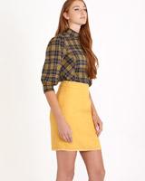 mustardSavida Boucle Skirt