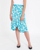 aquaSavida Daisy Print Skirt