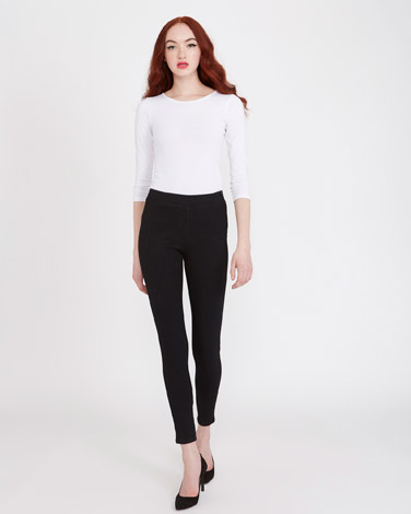 blackSavida Heidi Side-Zip Skinny Fit Jeans