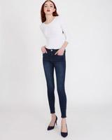 denimSavida Anna Ankle Grazer Jeans