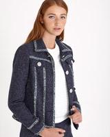 navySavida Boucle Jacket