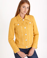 mustard Savida Boucle Jacket (Online Exclusive)