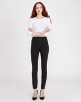 black Savida Pull-On Trousers