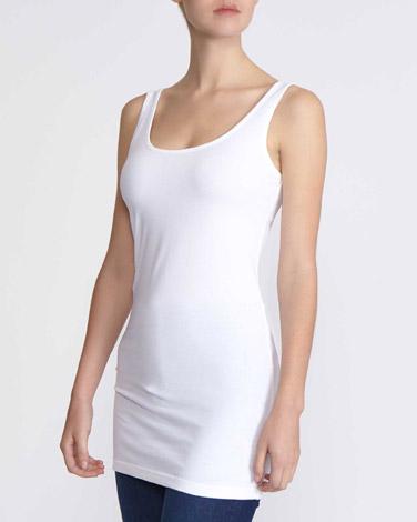 whiteLongline Vest