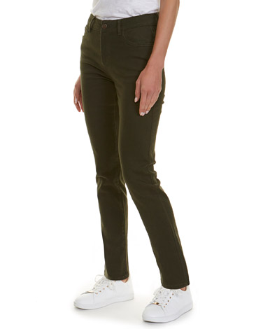 forestKate Mid Rise Straight Fit Jeans
