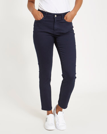 navyKate Mid Rise Straight Fit Jeans