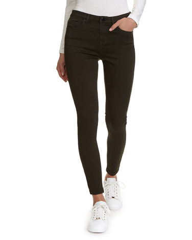 aa252d7d95 forest Jessie Mid Rise 360 Stretch Skinny Fit Jeans