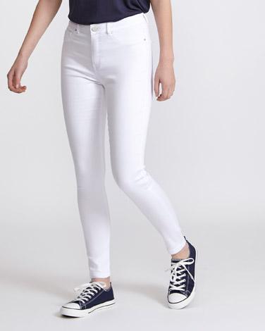 Jessie Mid Rise 360 Stretch Skinny Fit Jeans