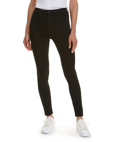 blackHolly High Rise Skinny Fit Jeans