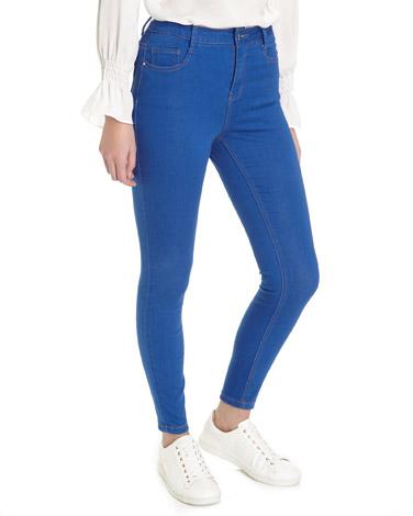 bright-blueJessie Mid Rise Skinny Fit Jeans