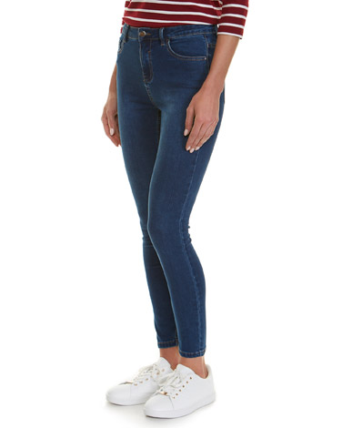 denimJessie Mid Rise Skinny Fit Jeans