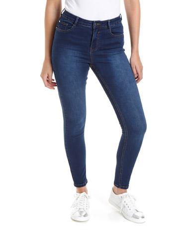 mid-washJessie Mid Rise Skinny Fit Jeans