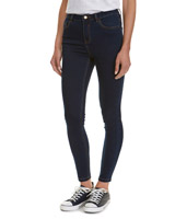rinse-washJessie Mid Rise Skinny Fit Jeans