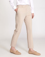 stone Naples Slim Leg Trousers