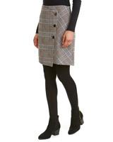 checkCheck Wrap Button Detail Skirt