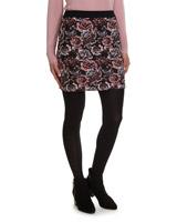 pinkMulti Jacquard Skirt