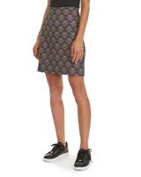 blueJacquard Mini Skirt