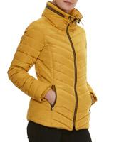 mustardHigh Collar Jacket
