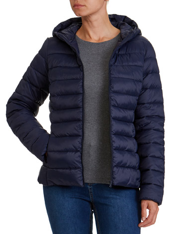 navy Superlight Hooded Jacket