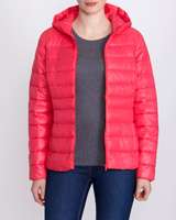 pink Superlight Hooded Jacket