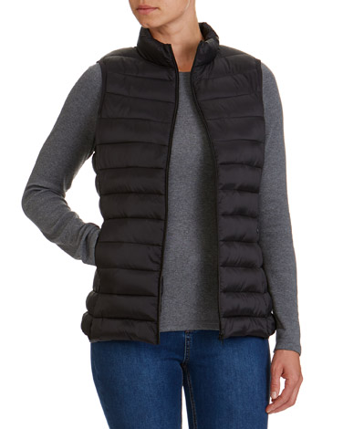 black Superlight Gilet