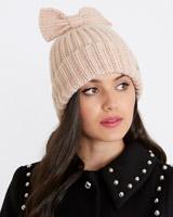 blushSavida Knit Bow Hat