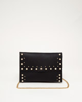 black Savida Pearl Clutch