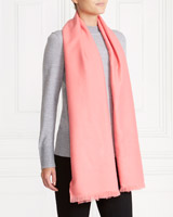 pink Gallery Solid Colour Scarf
