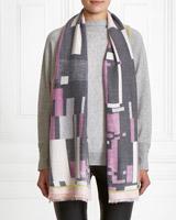 multi Gallery Colour Block Scarf