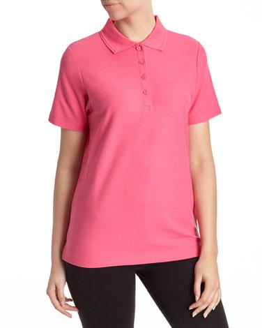 dark-pinkClassic Pique Polo Shirt