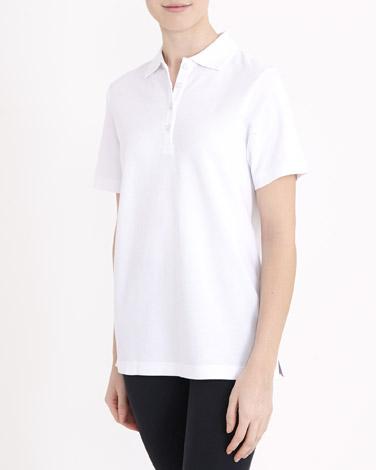 whiteClassic Pique Polo Shirt