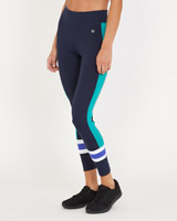 navy Colourblock Leggings
