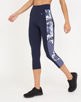 print Printed Capri Leggings