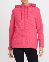 bright-pinkSpacedye Zip Through Fleece