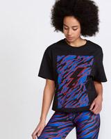 blackHelen Steele Black Oversized T-Shirt