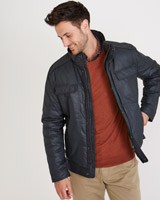 navy Paul Costelloe Living Mitchum Jacket