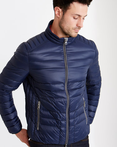 1ec4dcde17 navy Paul Costelloe Living Brandon Down Filled Jacket