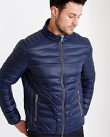 navy Paul Costelloe Living Brandon Down Filled Jacket