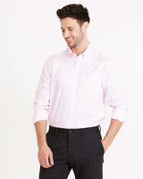 pink Paul Costelloe Living Regular Fit Oxford Shirt