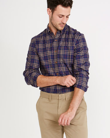 Paul Costelloe Living Regular Fit Check Shirt
