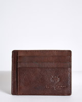 brown Paul Costelloe Living Leather Card Holder