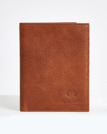 Paul Costelloe Living Tan Leather Passport Holder